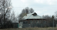 Разрушенный колхоз и пустующие дома