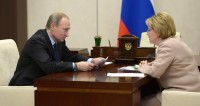 Скворцова Путину: Трудоспособные мужчины стали меньше пить