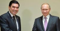 Президенты России и Туркменистана обсудили безопасность над Каспием