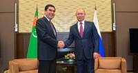 Путин поздравил Бердымухамедова с победой на выборах