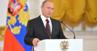 Президент поздравил россиянок с 8 марта