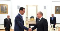 Путин поздравил Асада с освобождением Алеппо