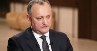 Додон попросит право президента распускать парламент
