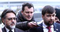 Пушилин и Дейнего прибыли в Минск на переговоры по Донбассу