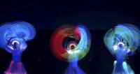 Гомель в неоновых огнях: В городе прошел фестиваль световых шоу