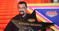 Стивен Сигал открыл свою звезду на Аллее славы в Москве