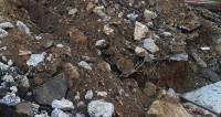 На бразильский жилой квартал рухнула скала