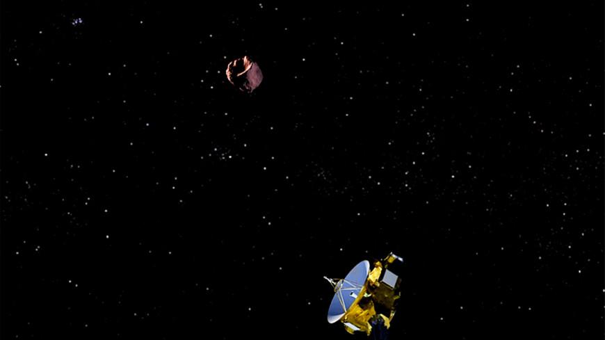 New Horizons переработал курс к астероиду