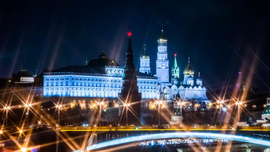 В Москве к новогодней полночи разгуляется сильный ветер