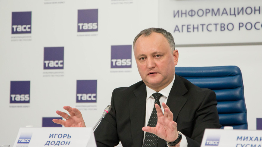 Додон: Молдова потеряла рынок в России после соглашения с ЕС