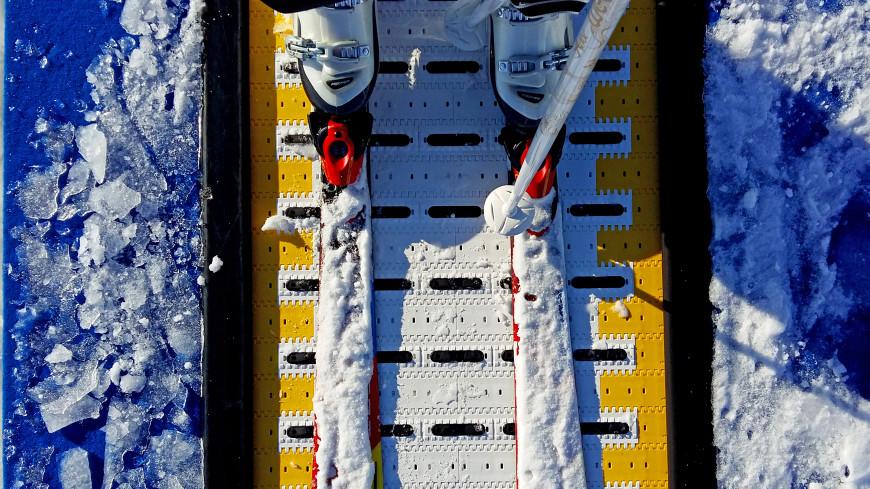 Итальянская горнолыжница вылетела с трассы на скорости 100 км в час