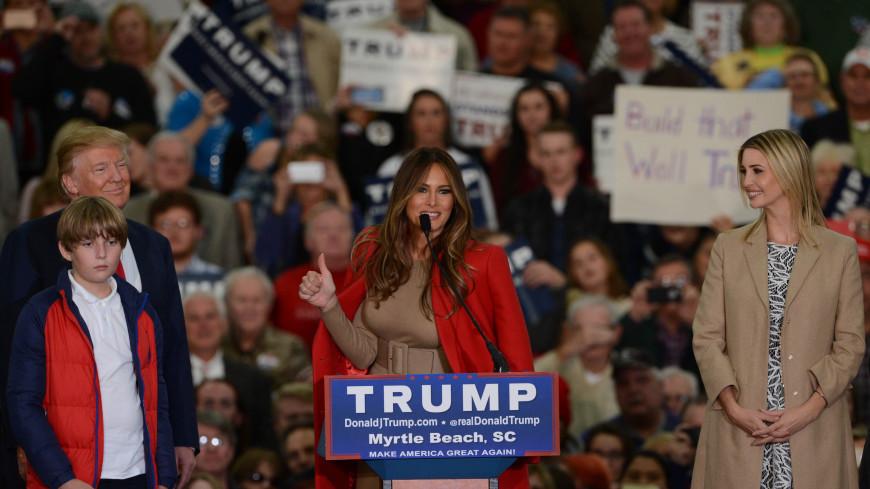 Меланья Трамп опубликовала твит в качестве первой леди США