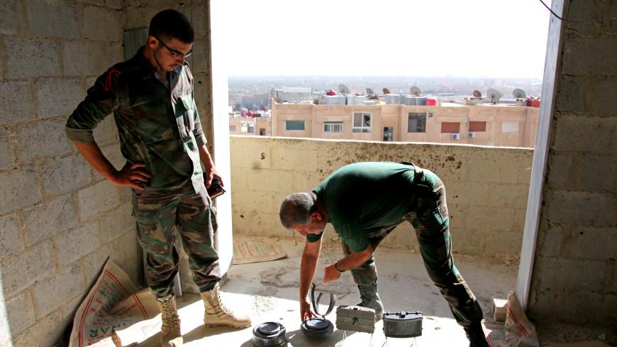 ИГ, отступая из Пальмиры, оставило после себя море мин