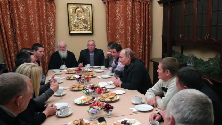 Путин пообещал новгородским рыбакам хороший год