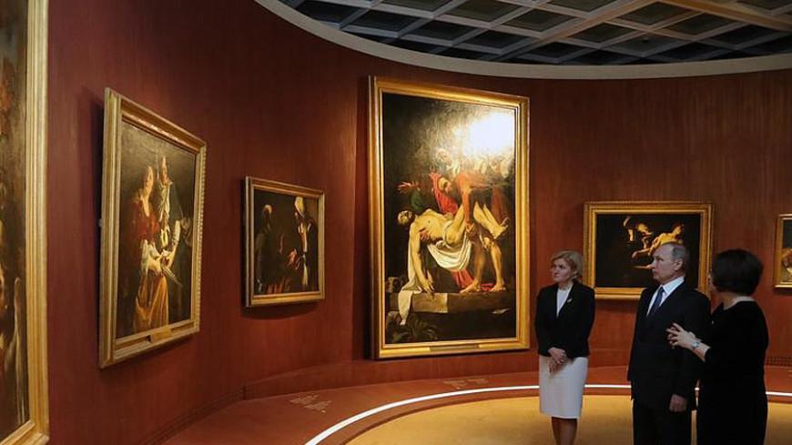 Путин посетил выставку сокровищ Византии в Третьяковке