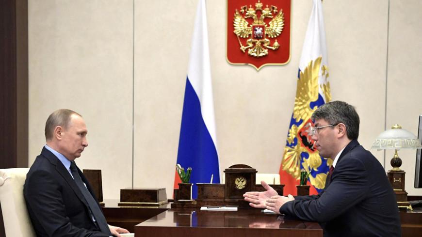 Путин назначил врио главы Бурятии замминистра транспорта Цыденова
