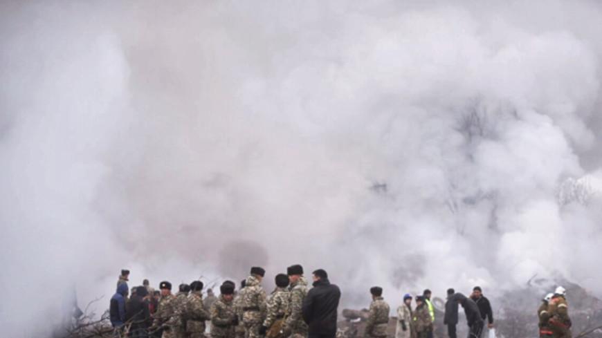 Опознаны тела всех 38 погибших в авиакатастрофе под Бишкеком