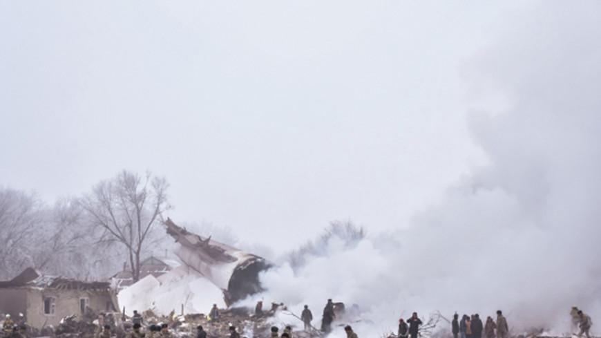 На месте крушения Boeing под Бишкеком найден черный ящик
