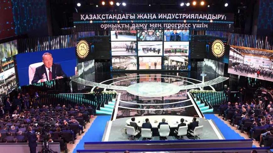 Назарбаев в День индустриализации раскрыл секрет работоспособности