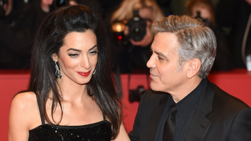 Счастье в квадрате: чета Клуни ждет двойню