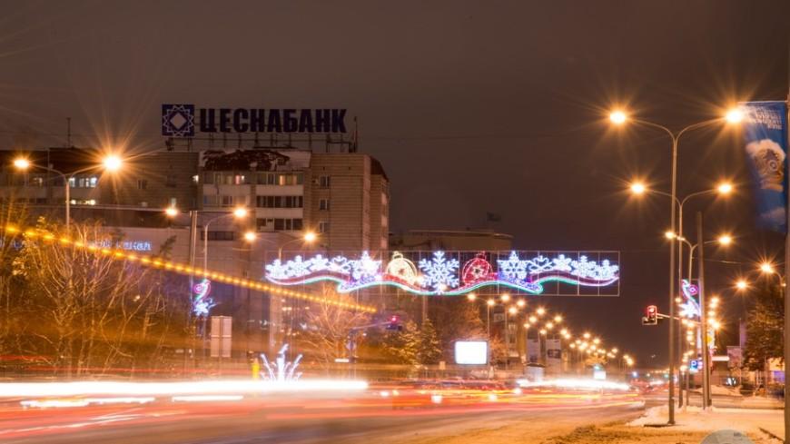 Мороз сковал столицу Казахстана
