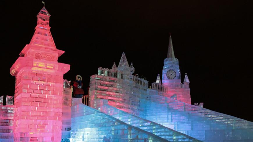 «Ледовую Москву» открыл настоящий Дед Мороз
