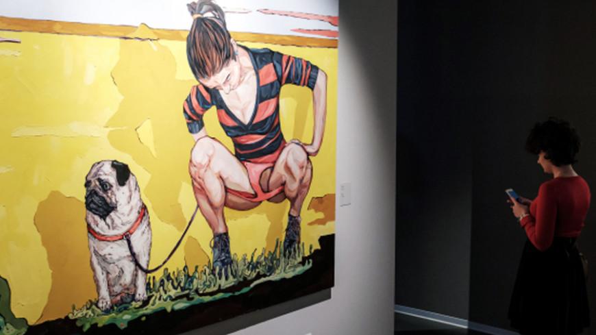 Сам себе экспонат: в Петербурге открылась выставка Сергея Шнурова