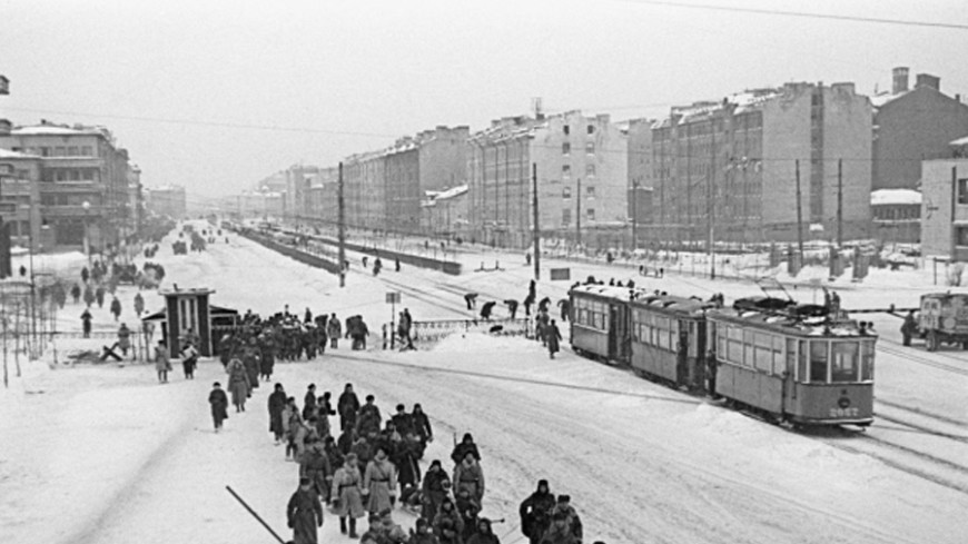 Пуск трамвая в блокадном Ленинграде как символ Победы