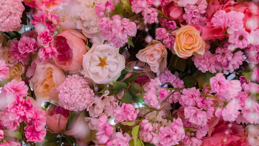 Свадьба из цветов