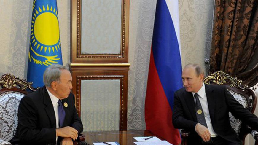 Путин поддержал кандидатуру Назарбаева на выборах президента Казахстана