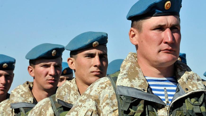 Российские десантники осенью проведут учения в Сербии и Египте