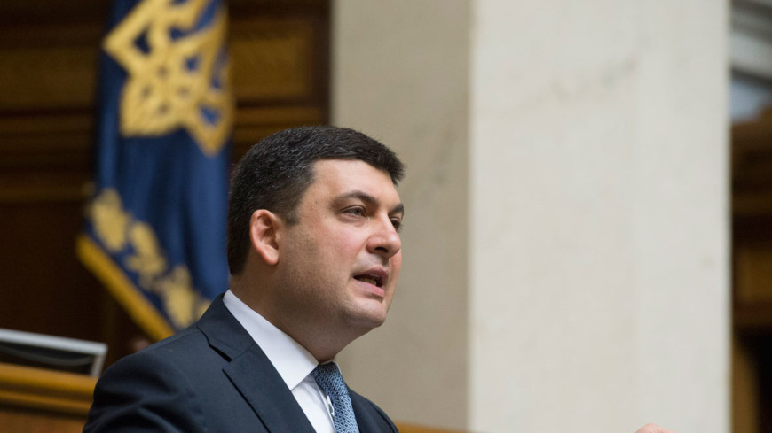 Премьер Украины публично пообещал воровать