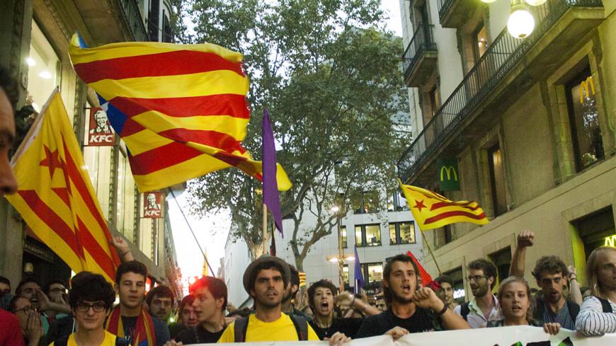 Референдум в Каталонии: большинство за независимость