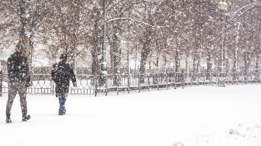В выходные в Москве будет до минус семи градусов