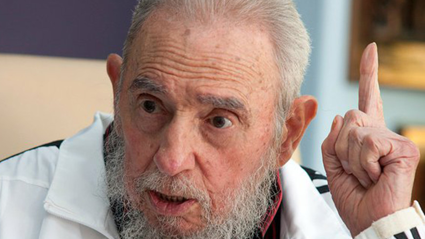 Жив и здоров: Фидель Кастро появился на публике впервые за 14 месяцев
