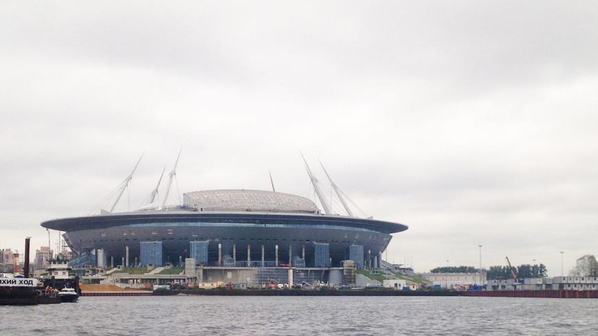«Зенит-Арена» прошла испытание футболом