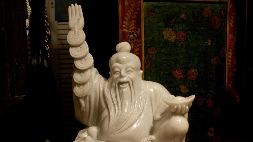 Останки гуру медитации нашли внутри статуи Будды