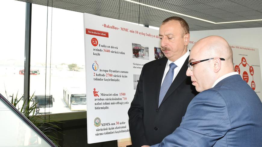 В Баку открылась станция метро в пять этажей
