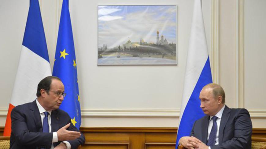 Путин и Олланд «сверят часы» по Сирии, Украине и ИГ