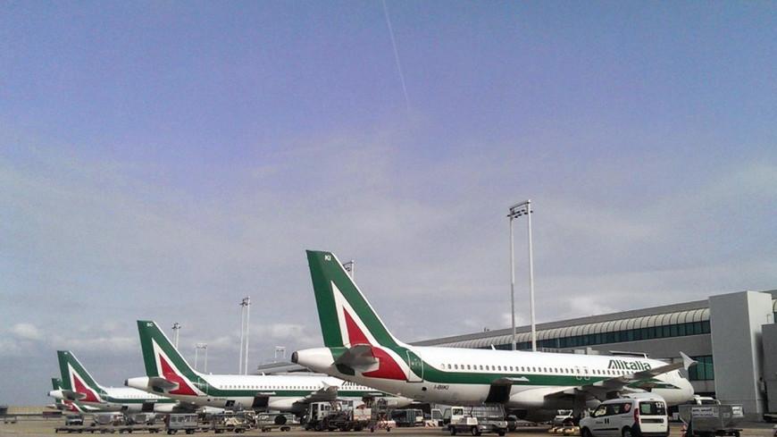 На рейсе Alitalia из Рима в Москву пассажиры отказались взлетать