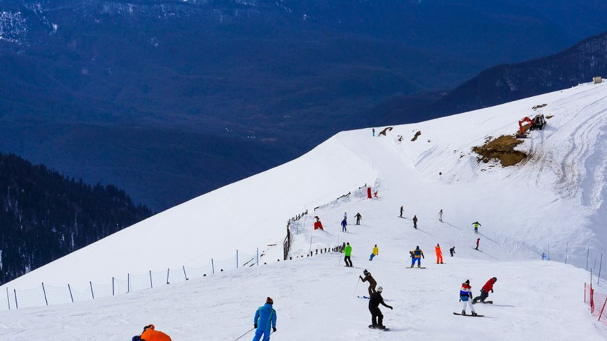 Футбол на лыжах - новое увлечение экстремалов