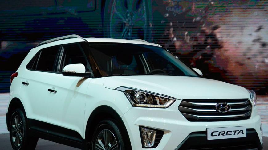 В России продали 15-тысячный кроссовер Hyundai Creta