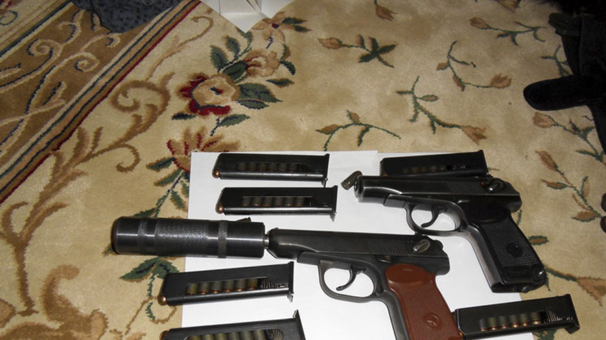 У московского ювелира изъяли арсенал оружия и боеприпасов