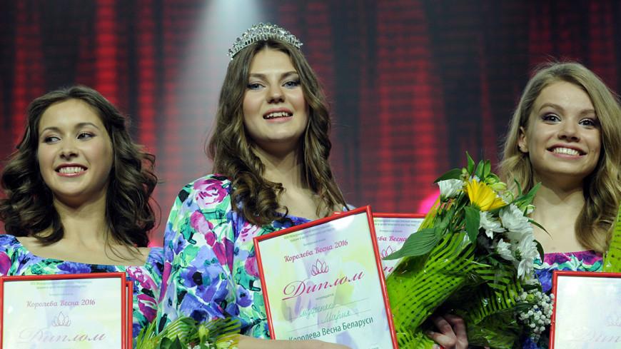 Студентка из Могилева победила в конкурсе «Королева Весна»