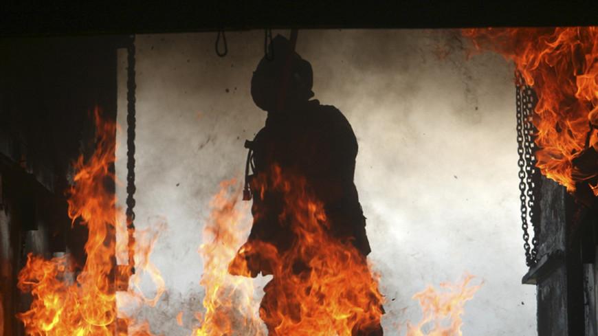 В Нью-Йорке горит сербский собор