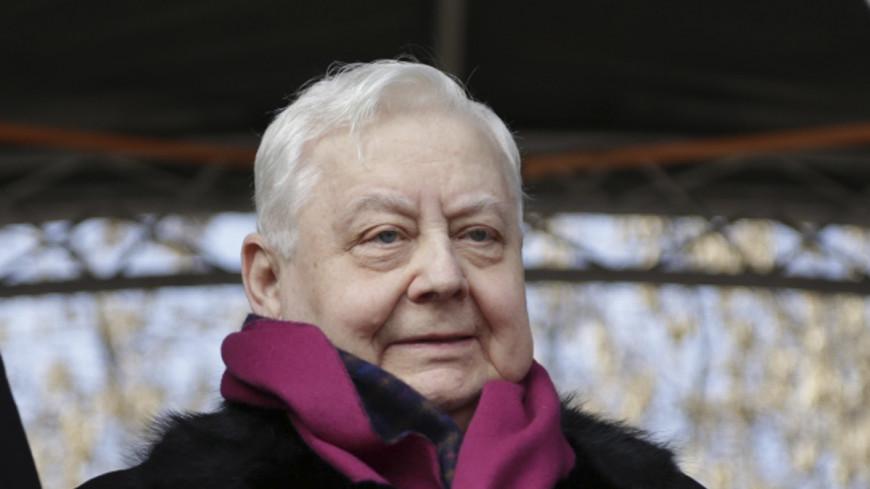 Олег Табаков празднует 80-летие