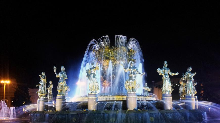 Кто дирижирует фонтанами: летний сезон начался в Москве