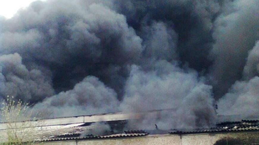 Из-за пожара на мексиканской фабрике масел эвакуированы сотни людей