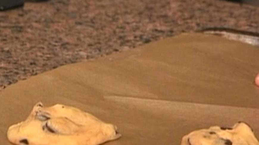 Рецепт быстрого приготовления печенья с шоколадной крошкой