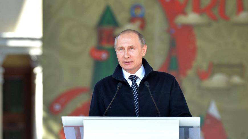 Путин объявил набор волонтеров для ЧМ-2018